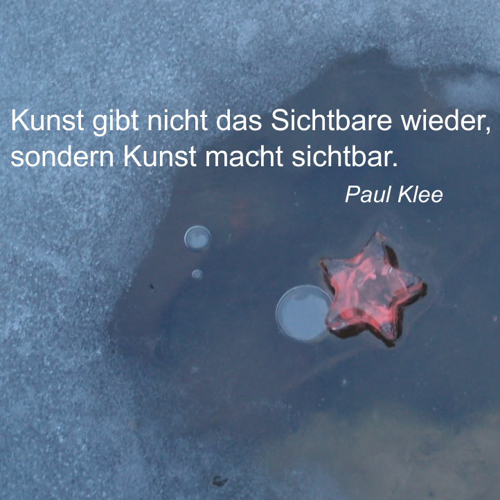 Paul Klee Zitate