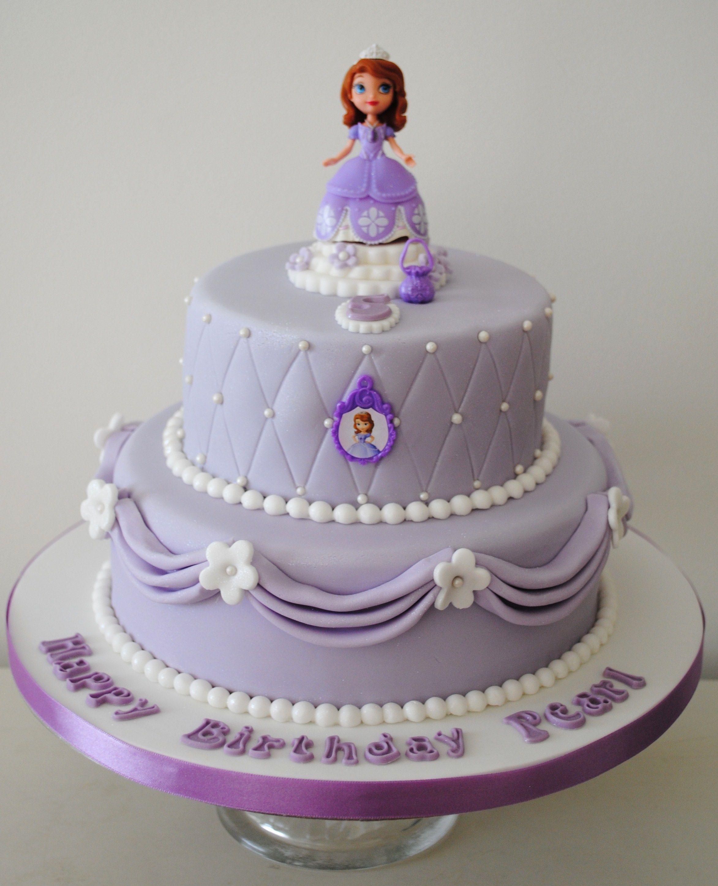 Sofia the First Birthday Cake Ideas Sofia birthday cake