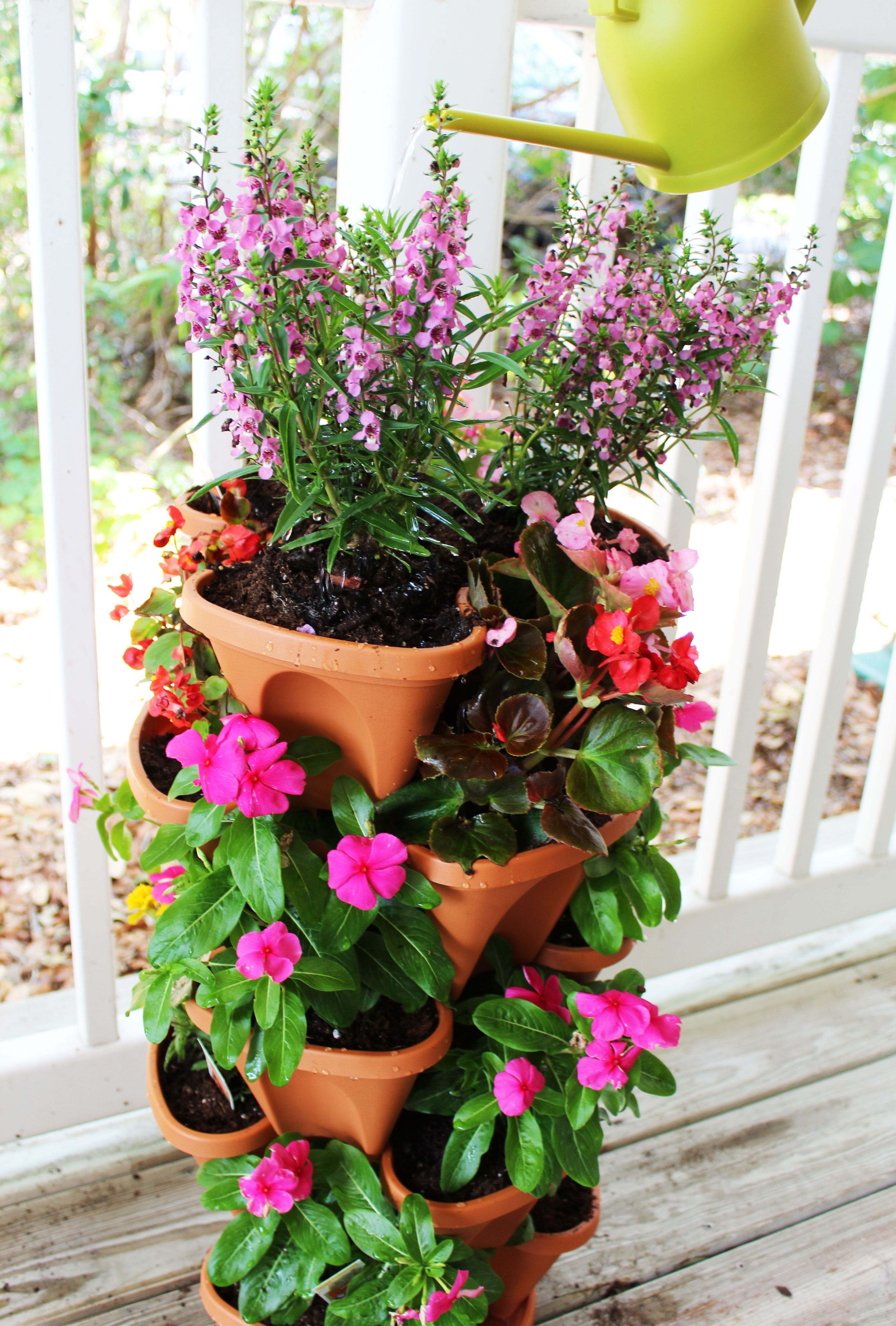 5 Tier Planter Create Beautiful Flower Displays Our Stacking