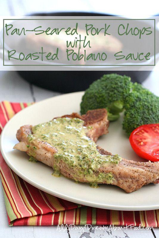 Pork-Chops-with-Roasted-Poblano-Sauce