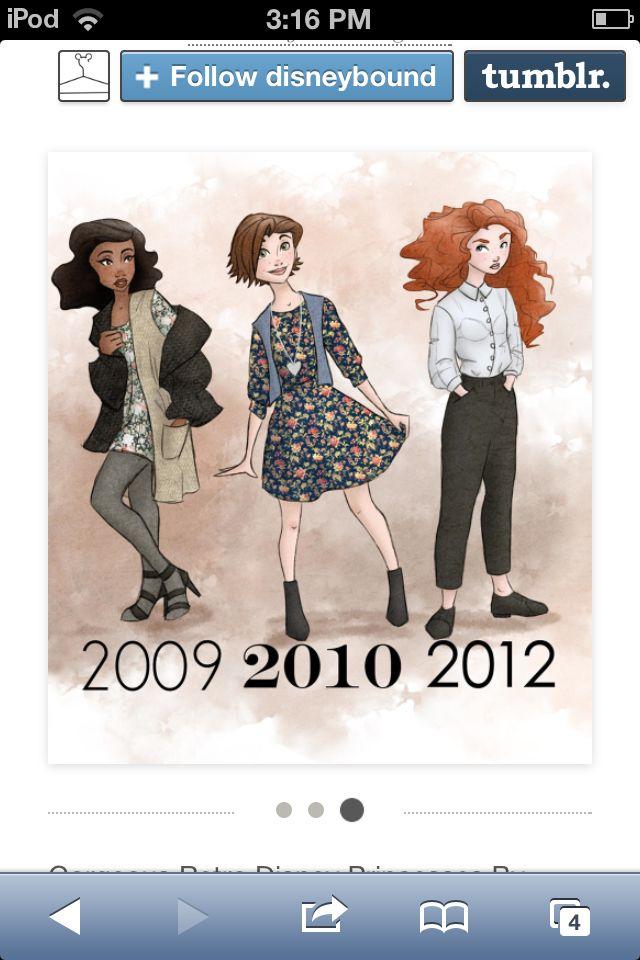 Princess Timeline | Retro disney, Disney princess outfits ...