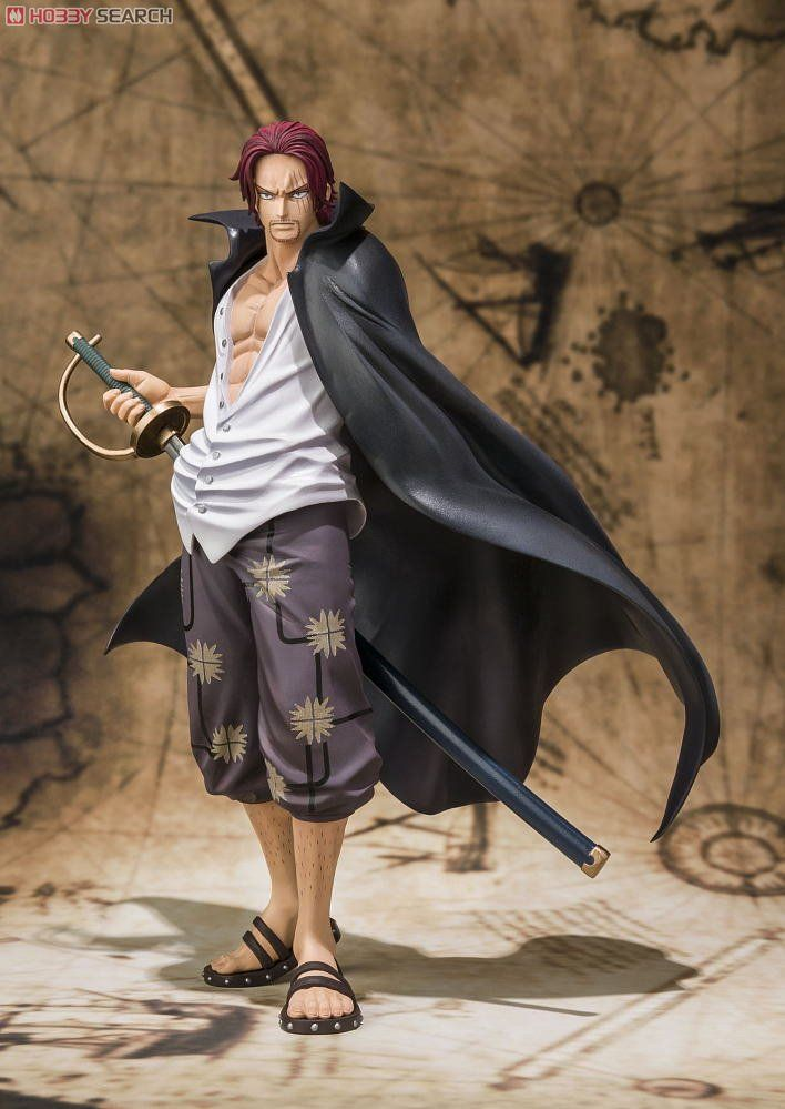 Bandai Figuarts Zero One Piece POP Shanks PVC Figure