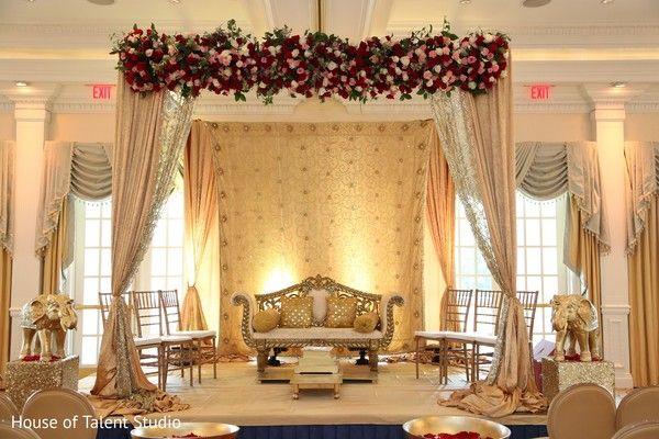 Exquisite Wedding Mandap Httpmaharaniweddingsgallery