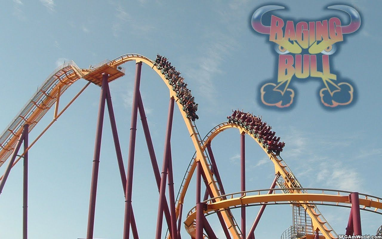 Blog Not Found Six Flags Great America Roller Coaster