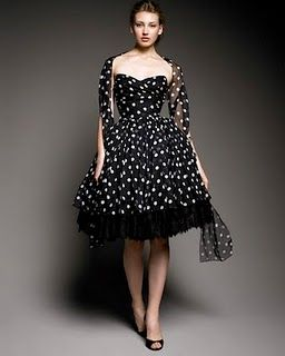 Perfect confection of a dress.