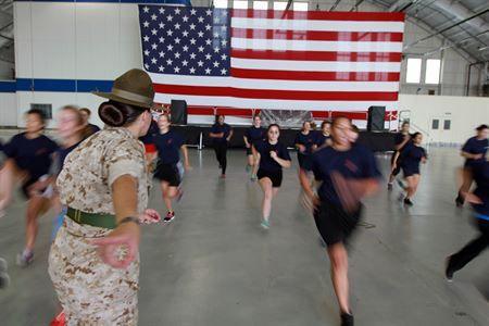 Photos Drill Instructor Parris Island Recruitment