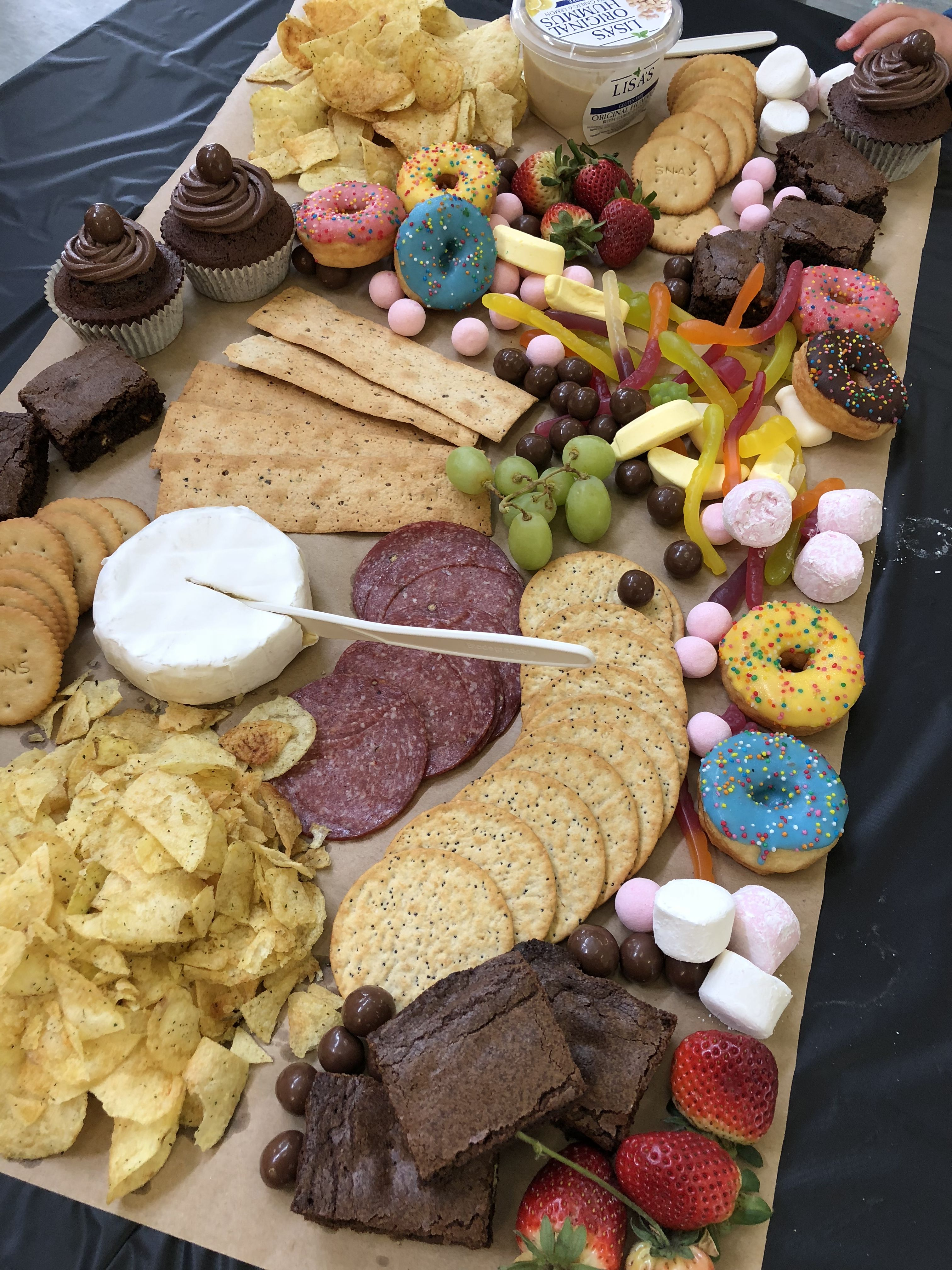 Kids Grazing Table Birthday Party Birthday Party Food Wedding