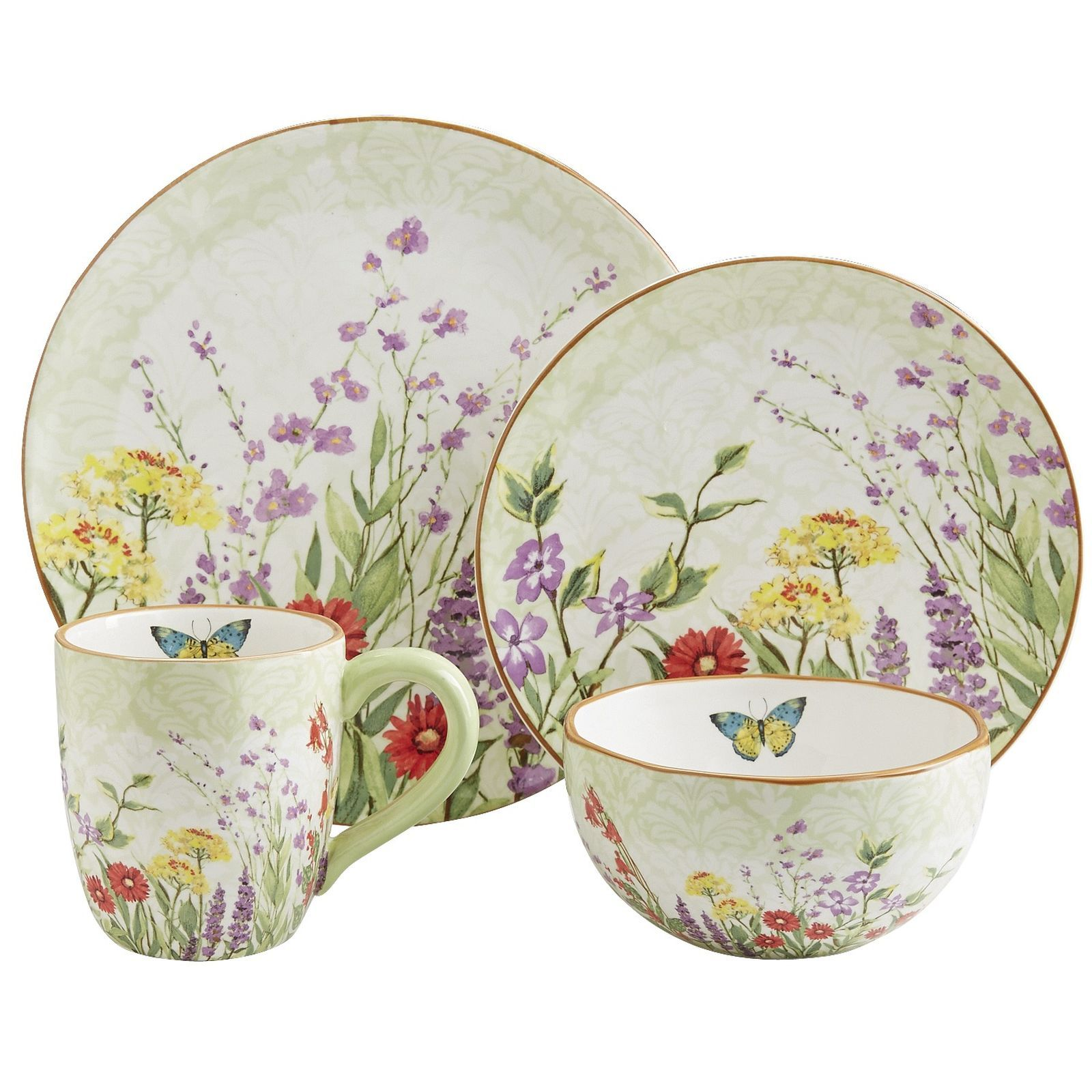 Each earthenware piece in our picturesque Botanical Garden Collection is a work of art. Vintage. Mac And CheeseDinnerware SetsEnglish ...  sc 1 st  Pinterest & Each earthenware piece in our picturesque Botanical Garden ...