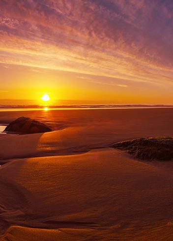 Sunset Beach Puestas De Sol Viajes Y Playa