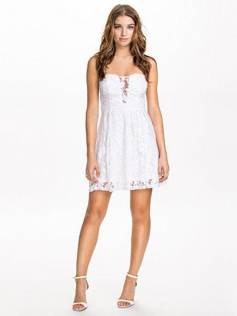 Heart shaped lace dress