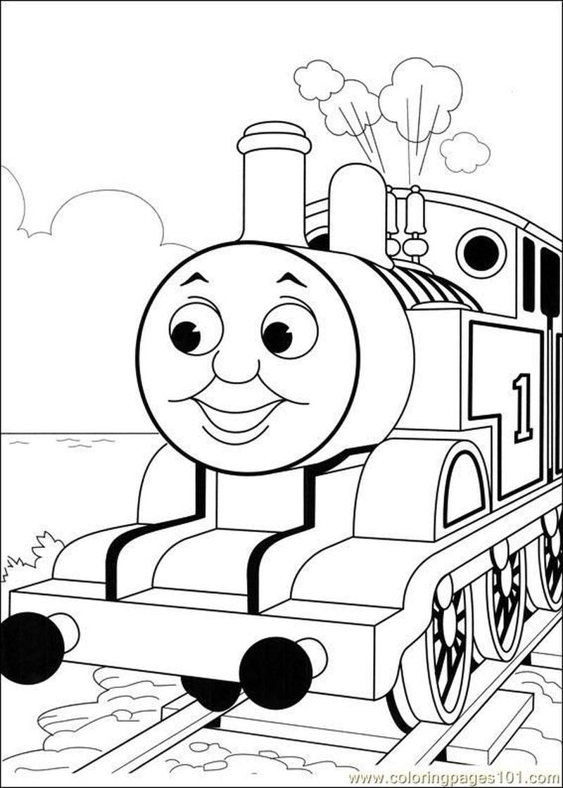Thomas The Train Coloring Page Train Coloring Pages Coloring