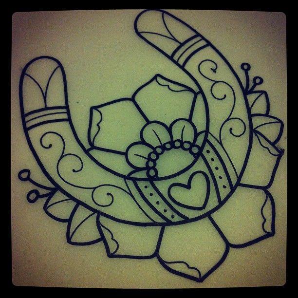 horse shoe by alexstrangler   Tattoo's   Pinterest   Horse ...