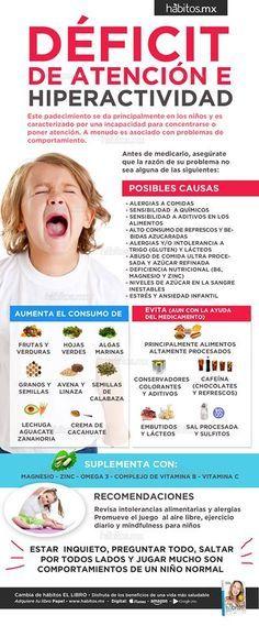 Hábitos Health Coaching Déficit De Atención E Hiperactividad Kids Health Health Kids Education