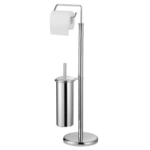 c42e293eac11 All Home Free Standing Toilet Roll and Brush Holder in 2019 ...