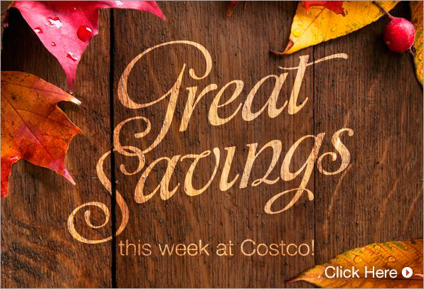 Costco Savings Coupons for October 13 – 19, 2014