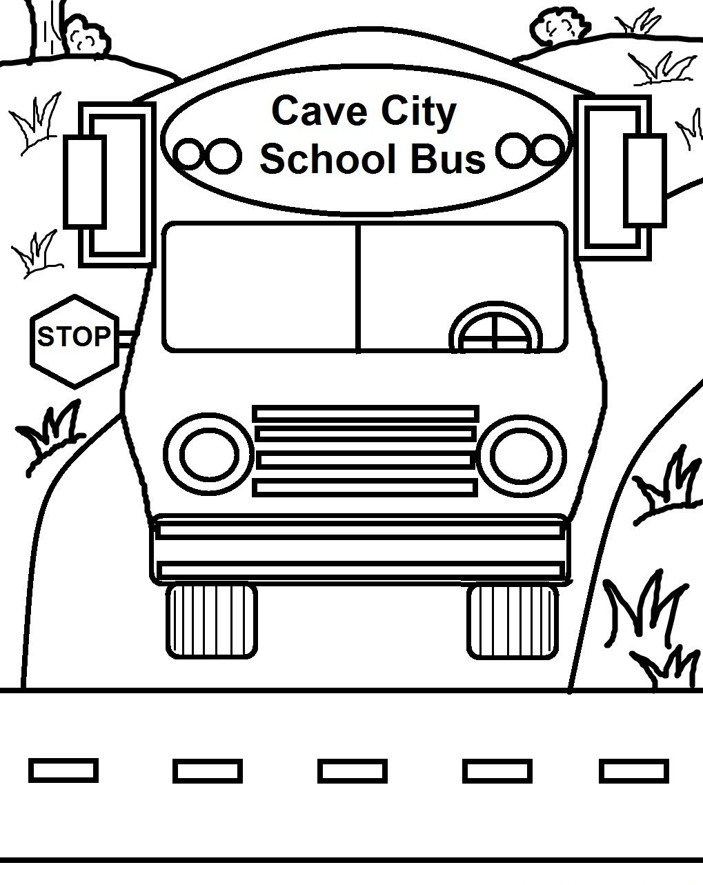 Free Printable School Bus Coloring Pages For Kids | Coloring_pages ...