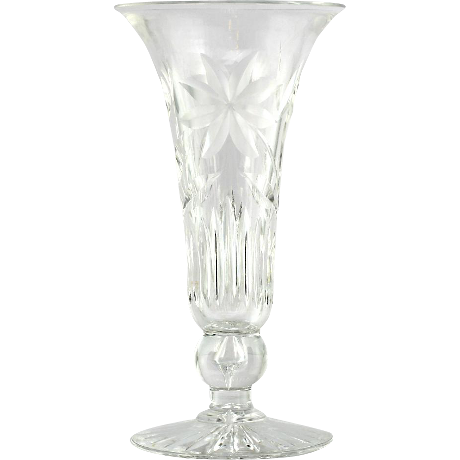 American brilliant cut glass vase flowers antique victorian american brilliant cut glass vase flowers antique victorian crystal reviewsmspy
