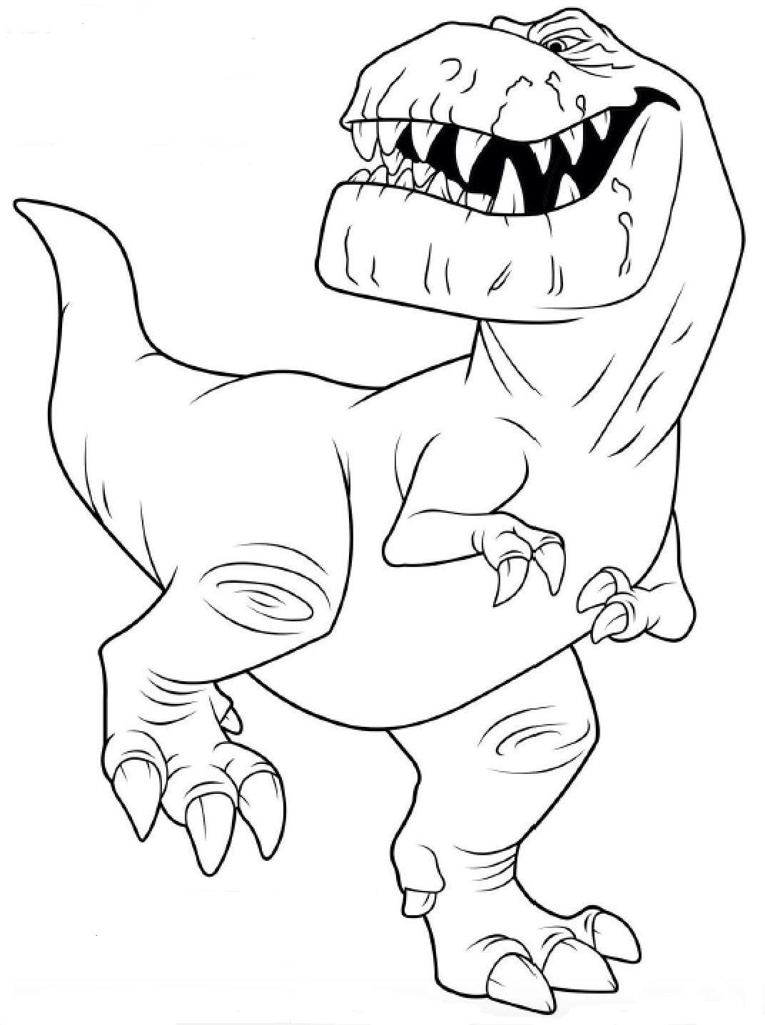 Pin von ColoringsWorld.com auf Dinosaur Coloring Pages | Pinterest