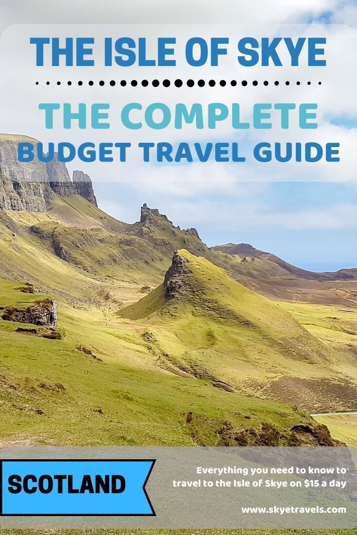 If you're willing to rough it a little, you can get around the Isle of Skye on a budget. Here are my frugal tips to explore my favorite place on Earth. #IsleofSkye #VisitScotland #BudgetTravel #BeautifulNature