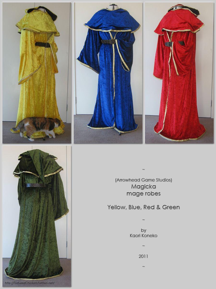 Magicka Mage Robes by KaoKoneko.deviantart.com