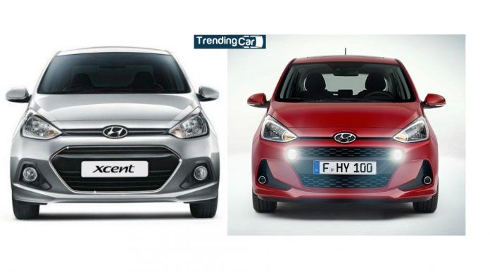 Hyundai Xcent Old Vs New Trending Car New Hyundai