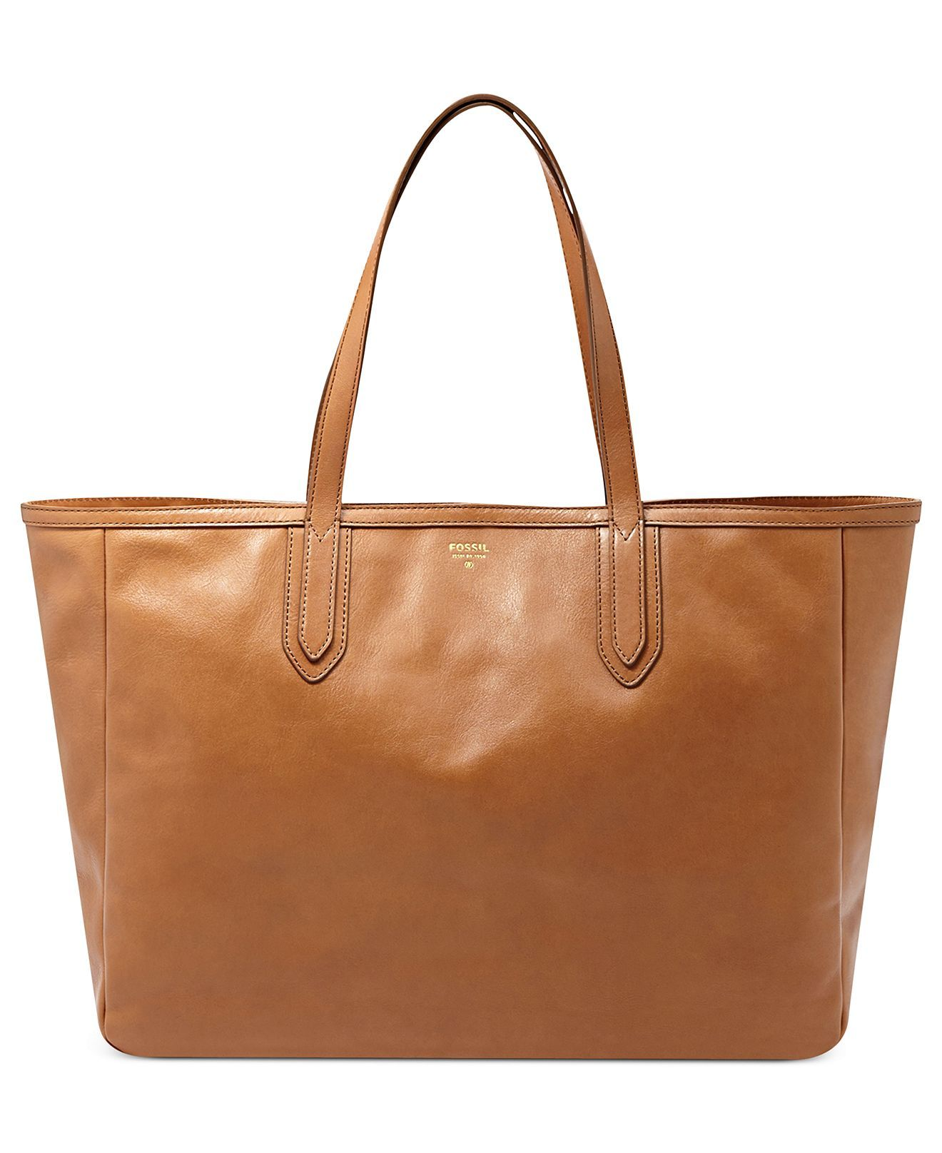 Fossil Handbag Sydney Leather Tote Handbags Accessories Macy S My Style Dream Wardrobe Pinterest Totes And