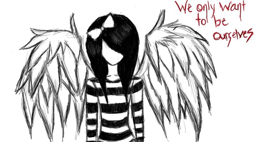 How to draw fallen angels fallen angel by mikilayla09