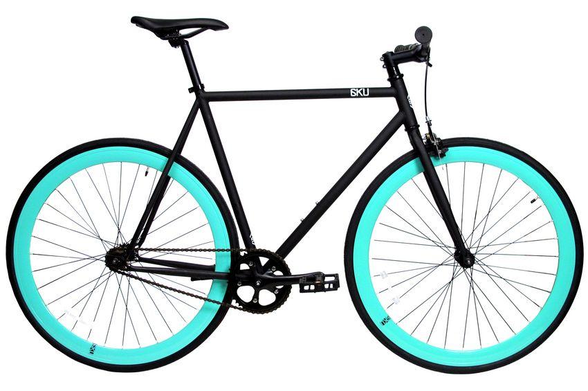 6ku Fixie Single- Speed Bike Nebula Black Item # 10TR-KU1007