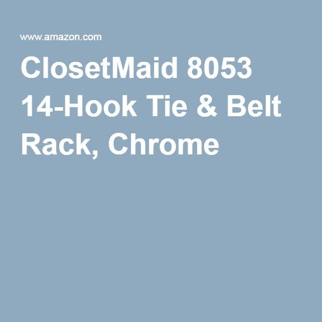 Robot Check Closetmaid Belt Rack Belt Tying