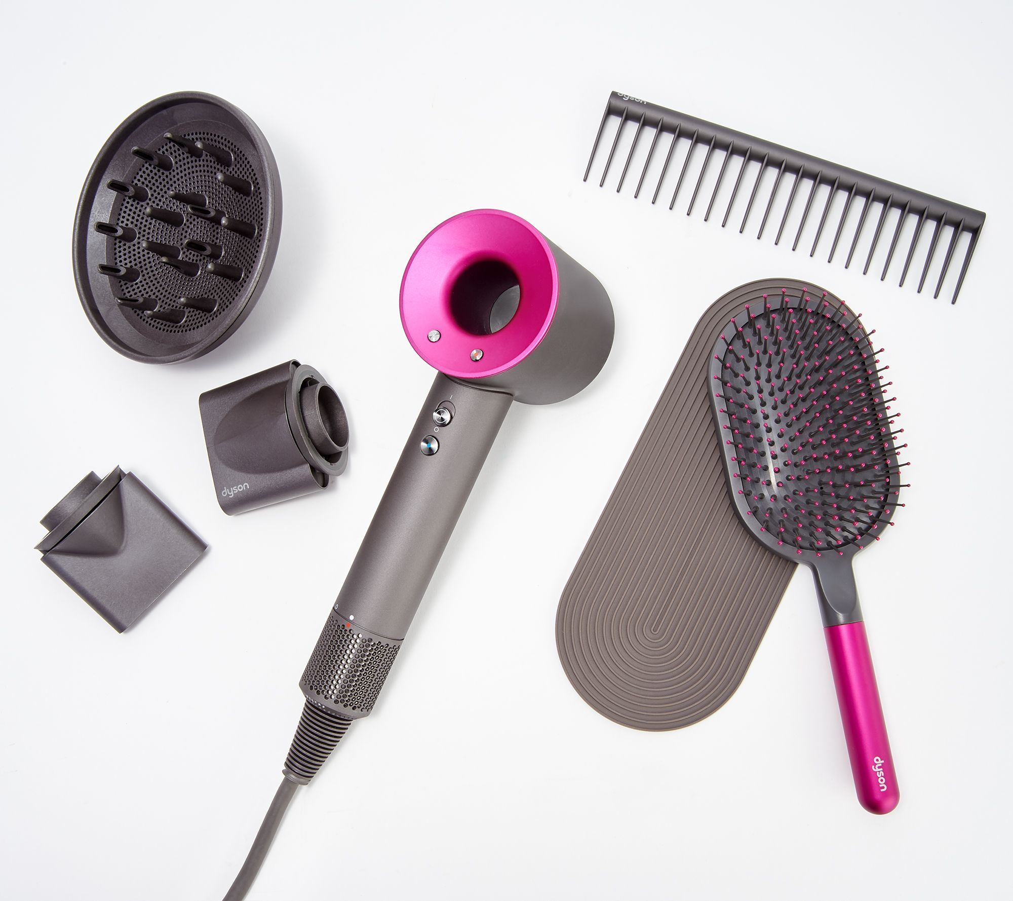 Dyson Supersonic Hair Dryer Kit with Brush & Comb — QVC
