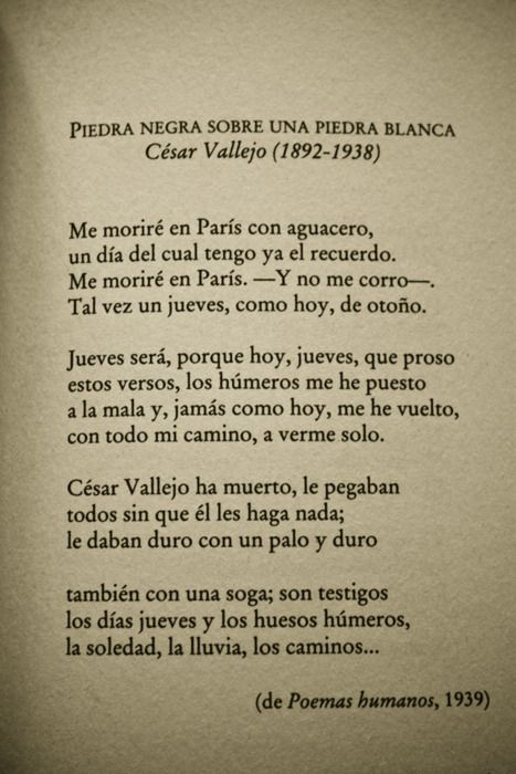 César Vallejo By Http Rustedbox Tumblr Com Book Quotes Motivational Phrases Poetry Quotes