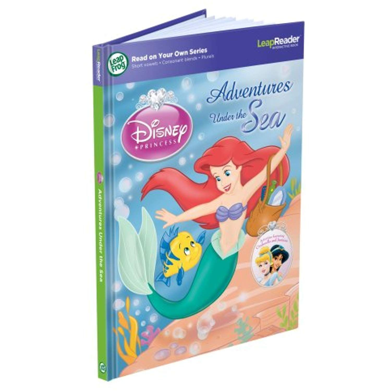 Leapfrog Leapreader Book Disney Princess Adventures Under