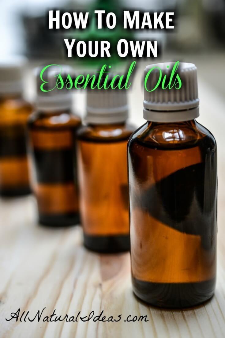 How To Make Your Own Essential Oils Homemade Essential Oils Essential Oil Recipes Making Essential Oils
