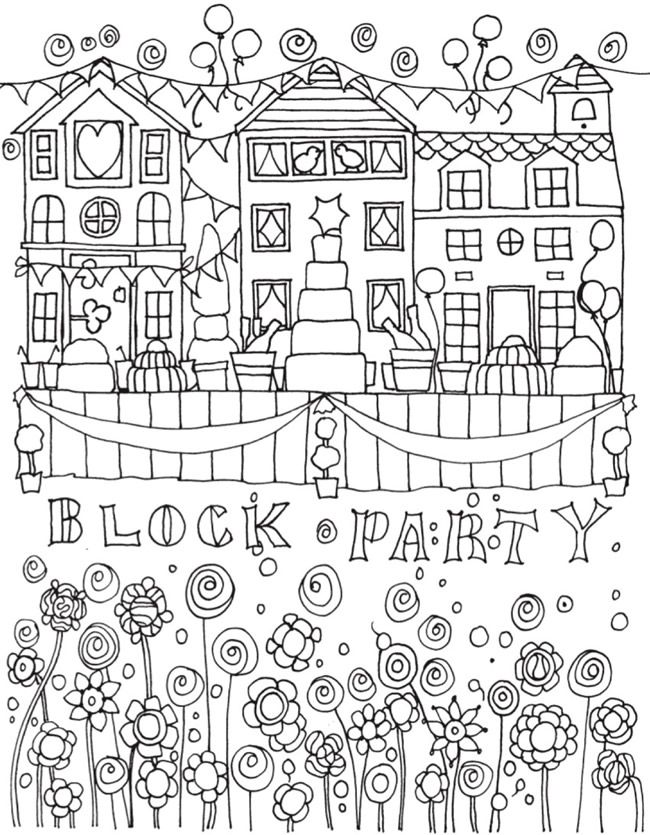 Welcome To Dover Publications Bliss Celebrate Summer Coloring Pages Pattern Coloring Pages Free Coloring Pages