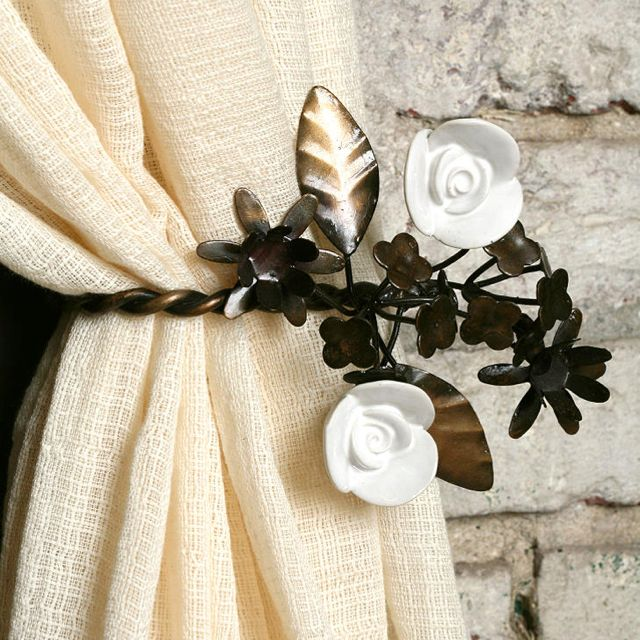 Garden Party Curtain Tie Back, Urban Outfitters