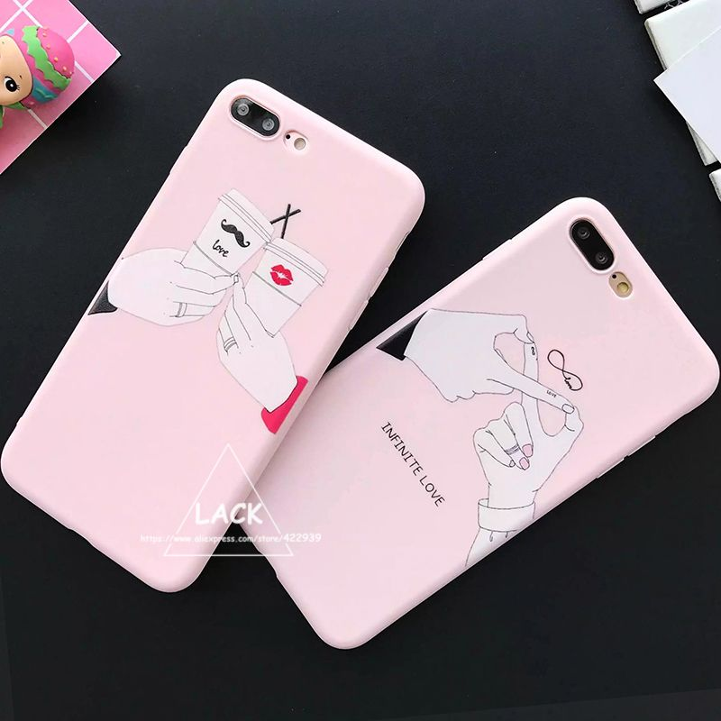 Fashion Funny Letter Case For iphone 6 Case For iphone 6S 7 7 PLus ...