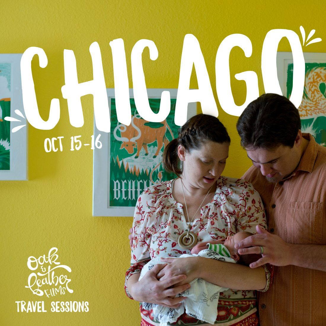 Oak + Feather Films   2016 travel sessions – chicago & texas