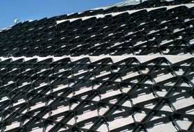 Zinco Georaster 174 For Pitched Roofs Cubiertas Ajardinadas