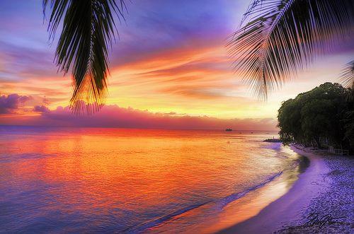 Barbados Sunset Part II | Barbados beaches, Beach honeymoon destinations,  Barbados travel