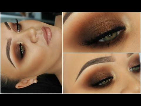(73) Kim Kardashian Bronze Smokey Eyes | One Brand ...
