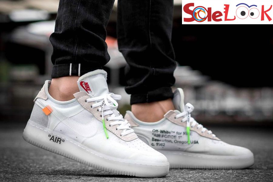 Off White X Nike Air Force 1 Low White Ao4606 100 By Virgil Abloh White Nike Shoes Sneakers Men Fashion Nike Air Force Men