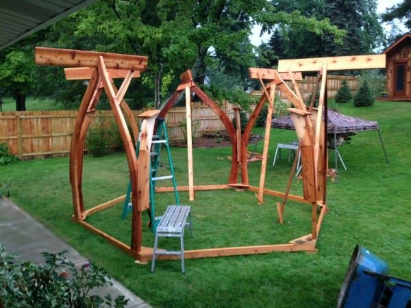 Right In Your Backyard Can Be The Perfect Spot To Create Diy Wedding Gazebo Of