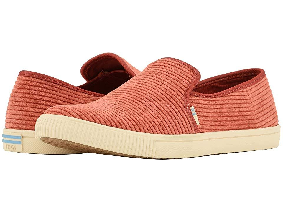 TOMS Clemente Spice Corduroy Womens Slip on Shoes With every pair of shoes you purchase TOMS will give a new pair of shoes to a child in need One for One The TOMS Clement...