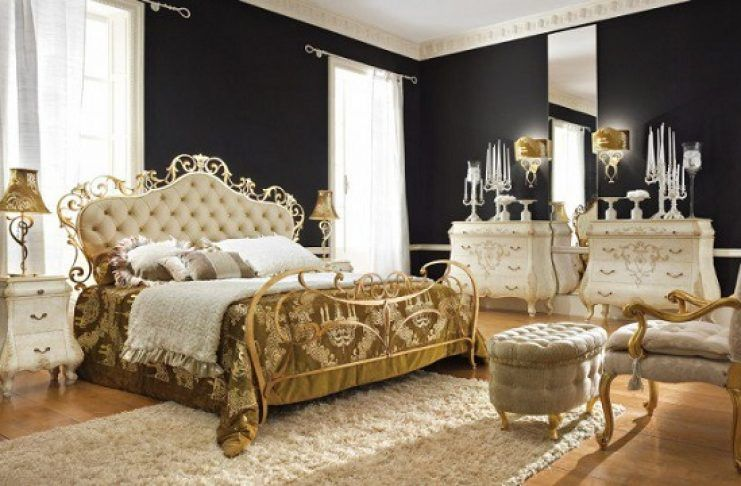 35 Gorgeous Bedroom Designs With Gold Accents With Images Master Bedrooms Decor Luxurious Bedrooms Bedroom Design