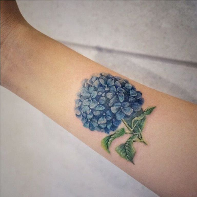 20 Hydrangea Tattoos Hydrangea Tattoo Small Tattoos Foot Tattoos