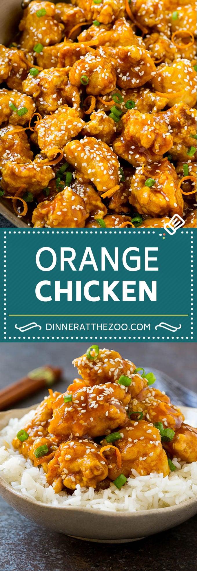 Orange Chicken Recipe | Chinese Orange Chicken | Panda Express Orange Chicken #orange #chicken #takeout #chinesefood #dinner #dinneratthezoo #chineseorangechicken