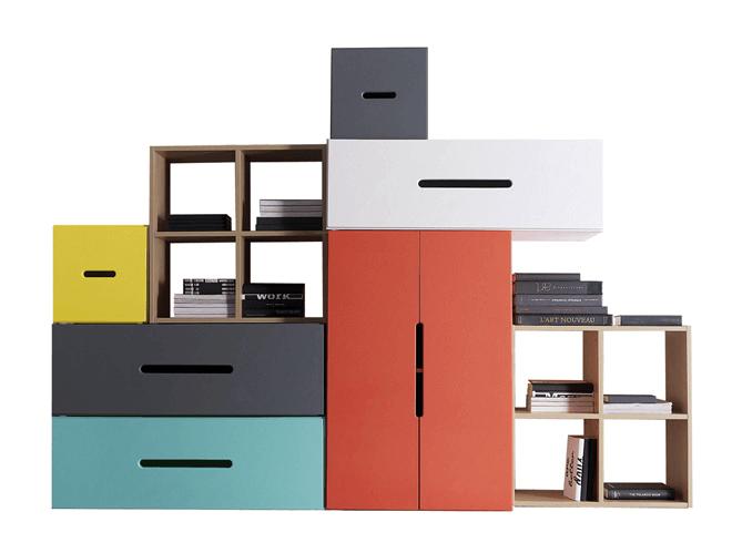 meubles gain de place   Astuce rangement, Rangement et Rangement gain de place