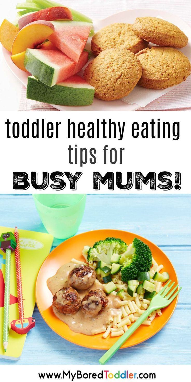 How to get your toddler to eat healthy when you're BUSY! images