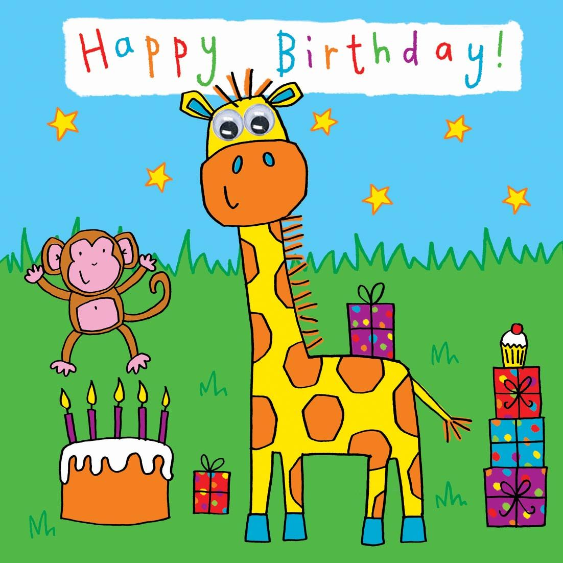 Kids Greeting Cards Birthday Kids Greeting Cards Pinterest
