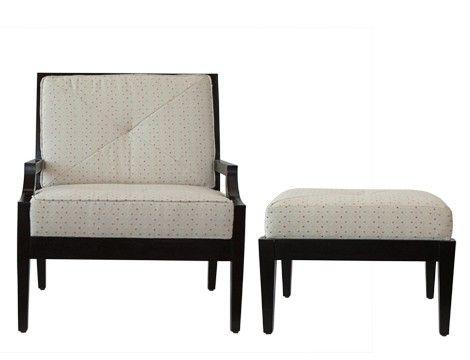 Leah Armchair With Ottoman Mandaue Foam Armchair With